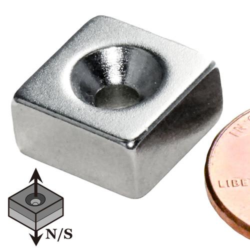 Small Countersunk Neodymium Magnet