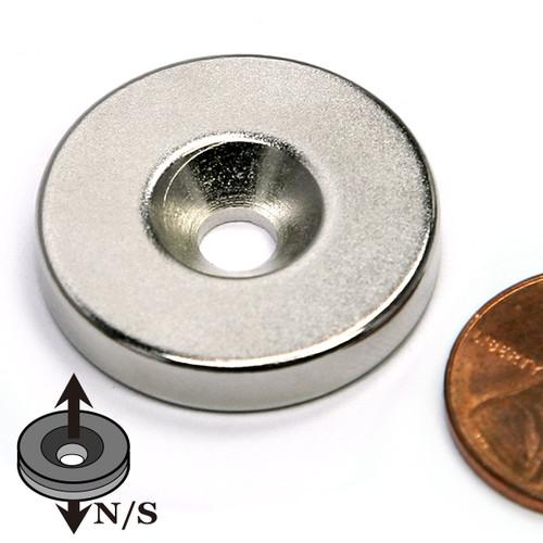 Disc Countersunk Neodymium Magnets