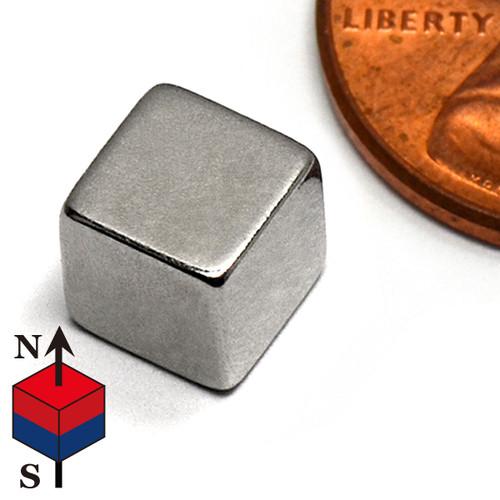 """1/4"""" Cube Neodymium Magnet"""