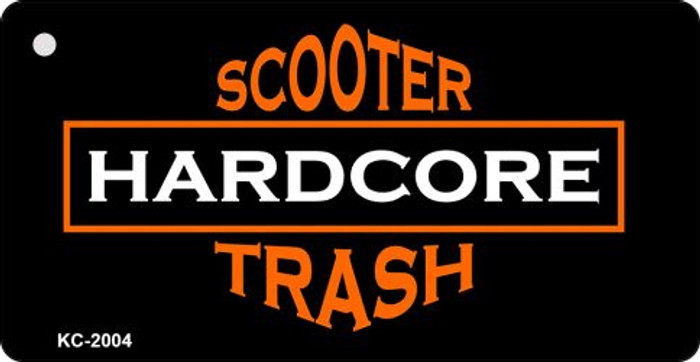 Scooter Trash Novelty Key Chain