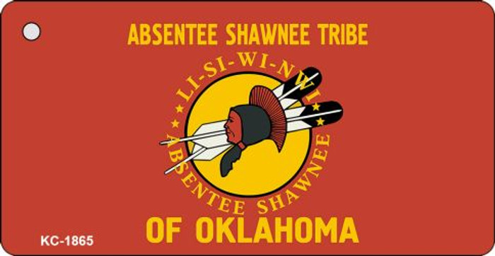 Absentee Shawnee Tribe Novelty Key Chain