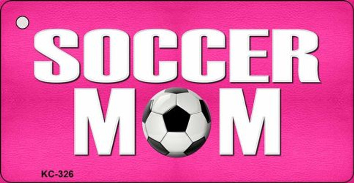 Soccer Mom Novelty Key Chain