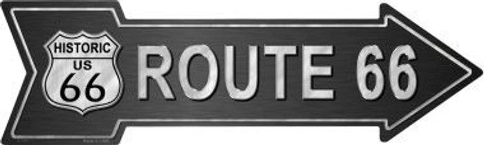 Route 66 Metal Arrow Sign