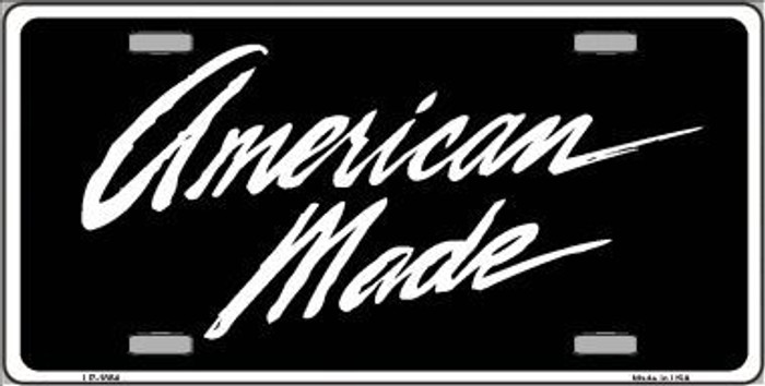 American Made Metal Novelty License Plate