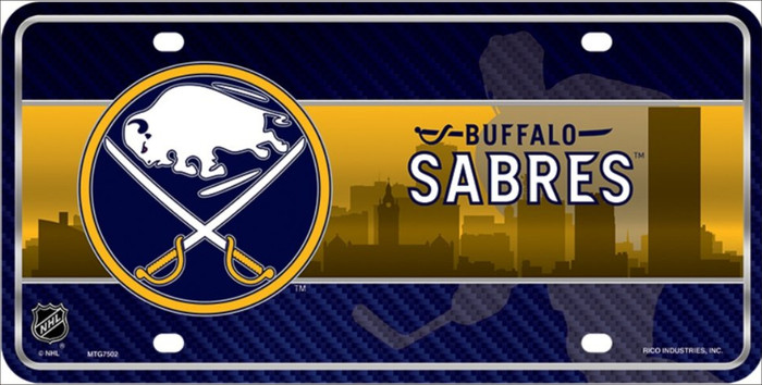Buffalo Sabres Metal Novelty License Plate LP-5569