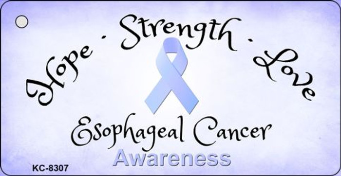 Esophageal Cancer Novelty Metal Key Chain