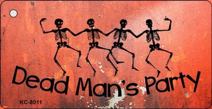 Dead Mans Party Novelty Key Chain