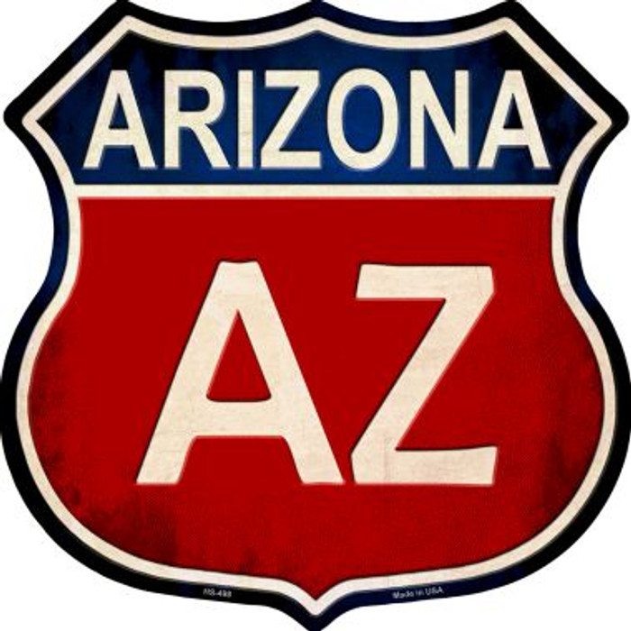 Arizona Metal Novelty Highway Shield