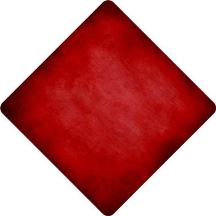 Red Oil Rubbed Novelty Metal Crossing Sign