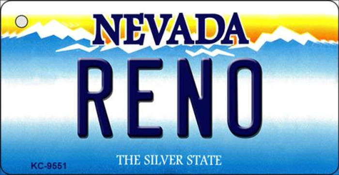 Reno Nevada Background Novelty Key Chain