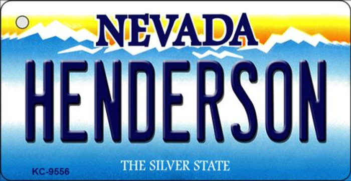 Henderson Nevada Background Novelty Key Chain