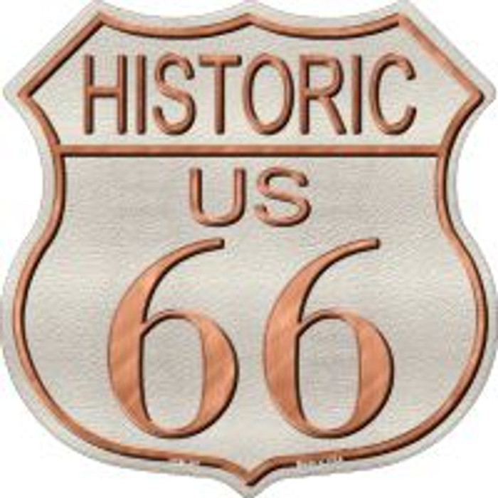 Historic Route 66 Highway Shield Novelty Metal Magnet