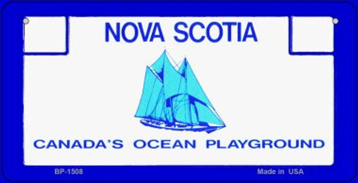 Nova Scotia State Background Novelty Bicycle License Plate