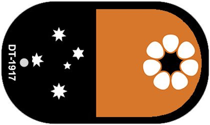 """Northern Territory Country Flag Dog Tag Kit 2"""" Metal Novelty"""
