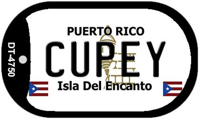 "Cupey Puerto Rico Dog Tag Kit 2"" Metal Novelty"