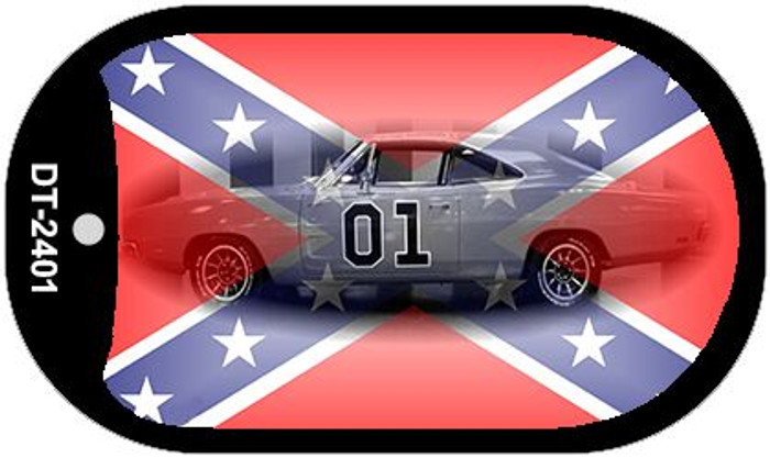 Confederate General Lee Dog Tag Kit Novelty Wholesale Necklace