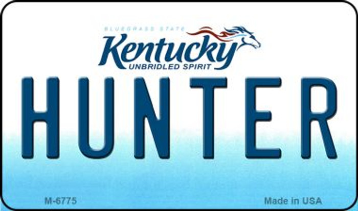 Hunter Kentucky State License Plate Novelty Magnet M-6775
