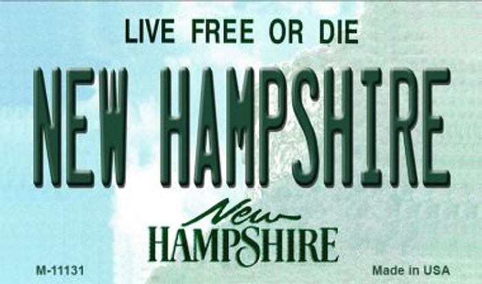 New Hampshire State License Plate Magnet M-11131