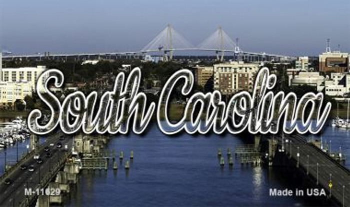 South Carolina City Bridge Magnet M-11629