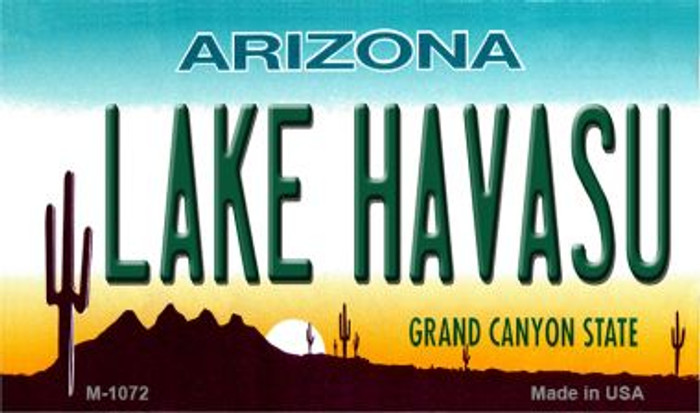 Lake Havasu Arizona State License Plate Magnet M-1072