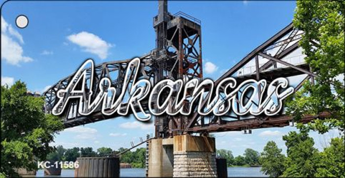 Arkansas Rusty Bridge Key Chain KC-11586