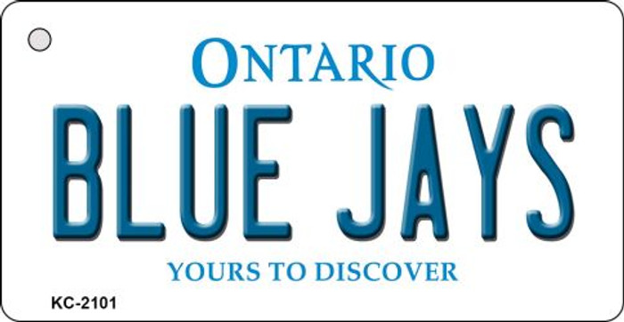 Blue Jays Ontario State License Plate Key Chain KC-2101
