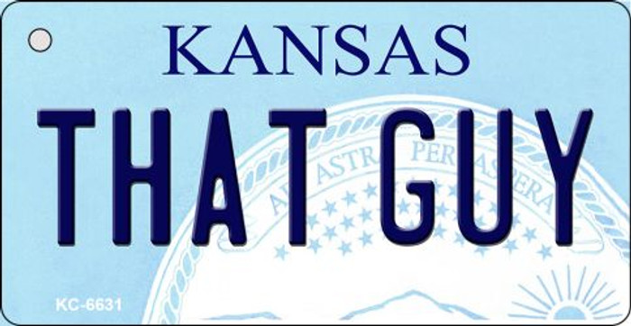 That Guy Kansas State License Plate Novelty Key Chain KC-6631
