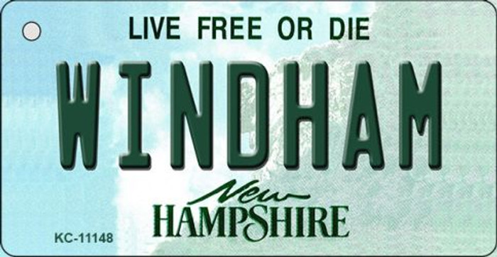 Windham New Hampshire State License Plate Key Chain KC-11148