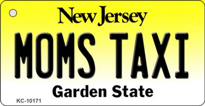 Moms Taxi New Jersey State License Plate Key Chain KC-10171