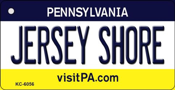 Jersey Shore Pennsylvania State License Plate Key Chain KC-6056