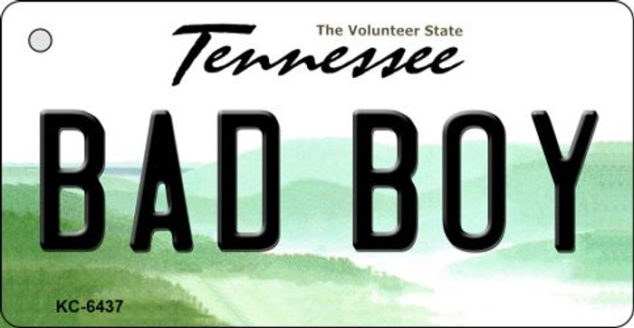 Bad Boy Tennessee License Plate Key Chain KC-6437