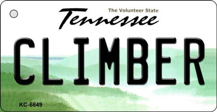 Climber Tennessee License Plate Key Chain KC-6649