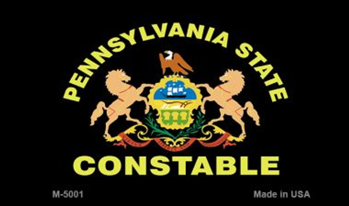 PA Constable State Seal Novelty Magnet M-5001