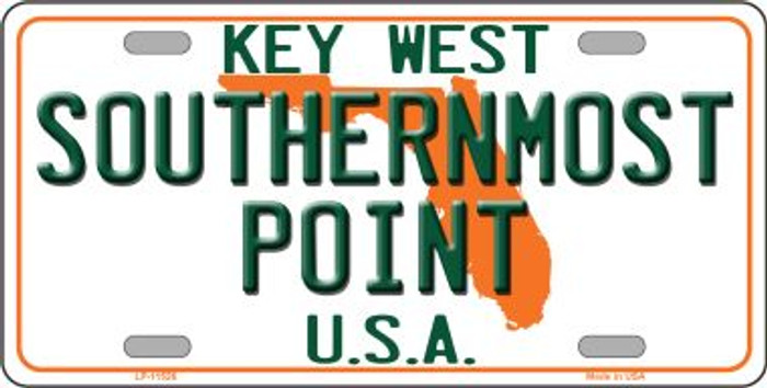 Key West Southernmost Point Novelty License Plate LP-11526