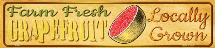 Farm Fresh Grapefruit Novelty Mini Street Sign K-683
