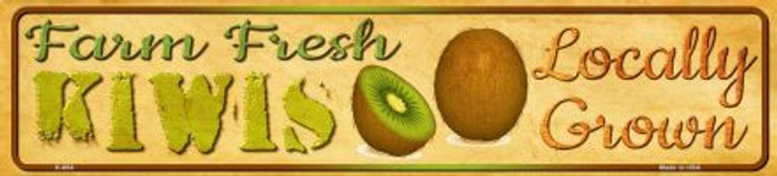 Farm Fresh Kiwis Novelty Mini Street Sign K-684