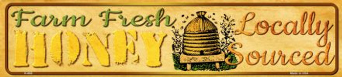 Farm Fresh Honey Novelty Mini Street Sign K-688