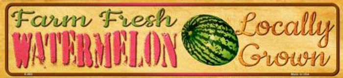 Farm Fresh Watermelon Novelty Mini Street Sign K-693