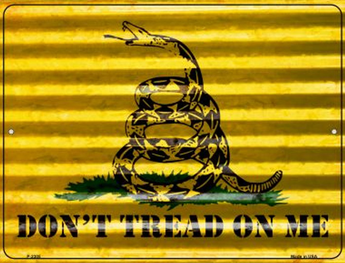 Dont Tread On Me Novelty Parking Sign P-2305