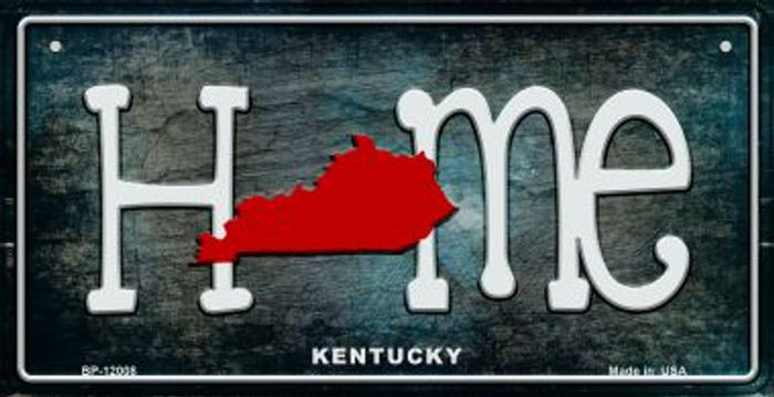 Kentucky Home State Outline Novelty Bicycle Plate BP-12008