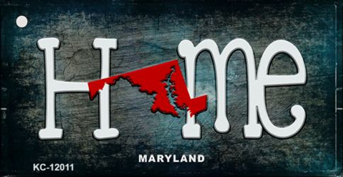 Maryland Home State Outline Novelty Key Chain KC-12011