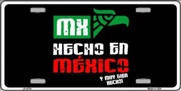 Made In Mexico Metal Novelty License Plate LP-4770
