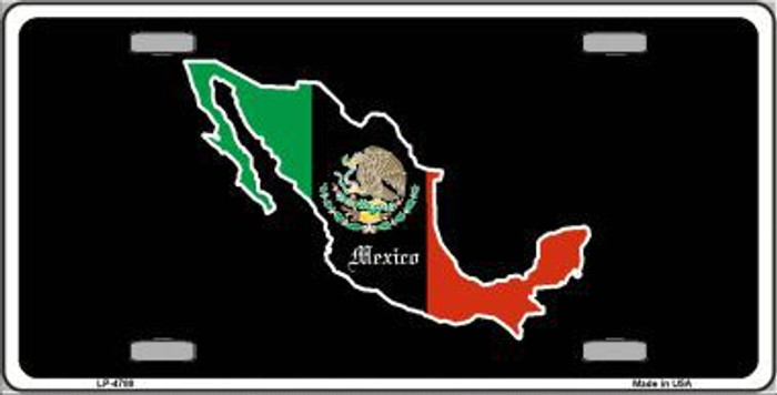 Mexico Metal Novelty License Plate LP-4788