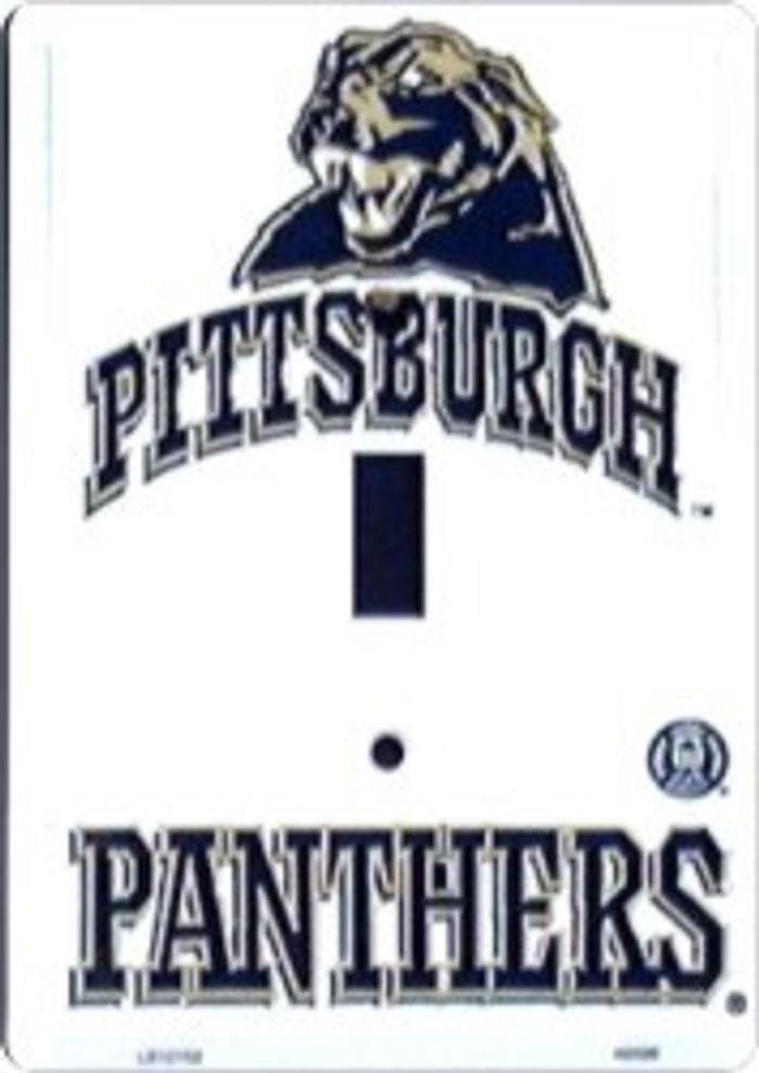 Pittsburgh Panthers Metal Novelty Light Switch Cover Plate