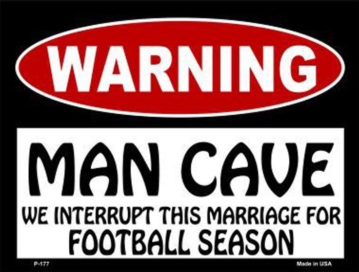 We Interrupt This Marriage Metal Novelty Parking Sign P-177