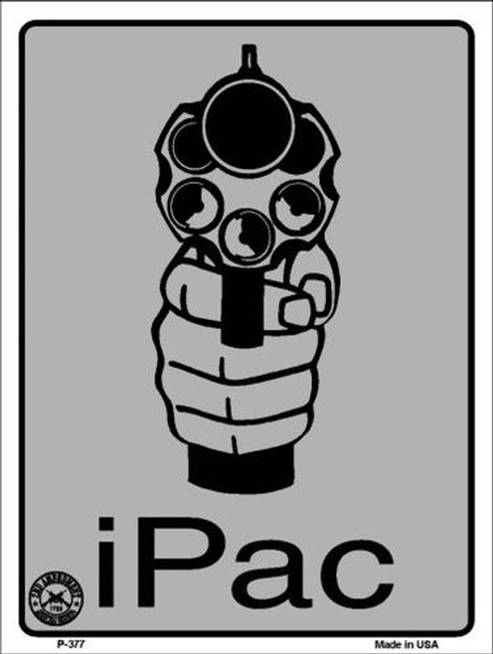 iPac Metal Novelty Parking Sign P-377