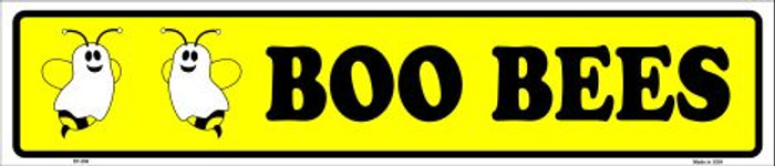 Boo Bees Metal Novelty Street Sign