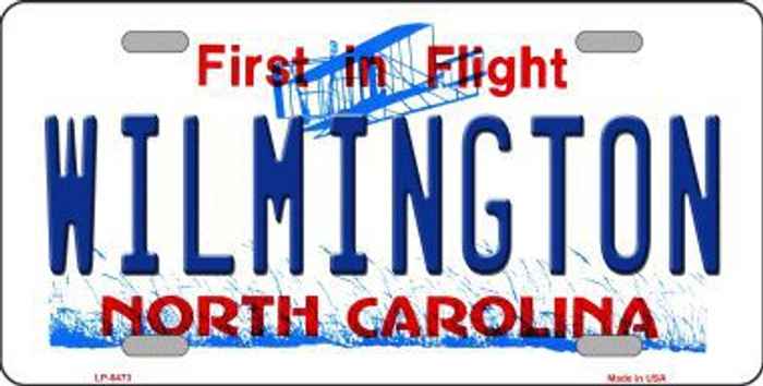 Wilmington North Carolina Novelty Metal License Plate