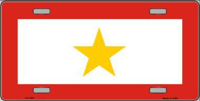 Gold Star Mother One Metal Novelty License Plate