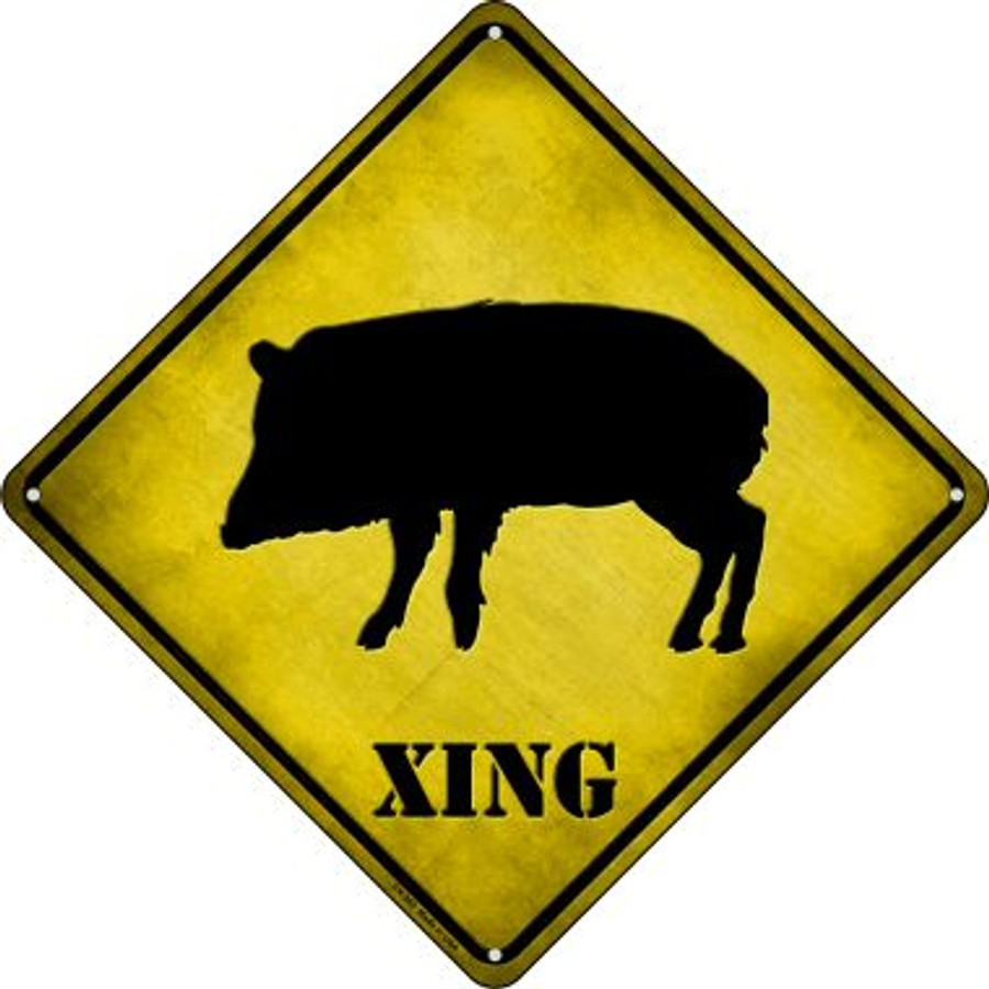 Havalena Xing Novelty Crossing Sign CX-360